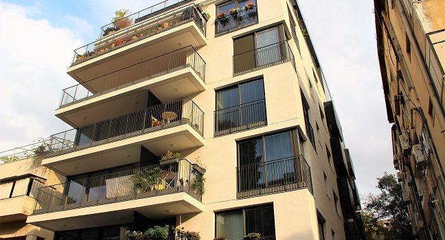 למכירה דירת 3 חדרים בבניין בוטיק בלב העיר תל אביב