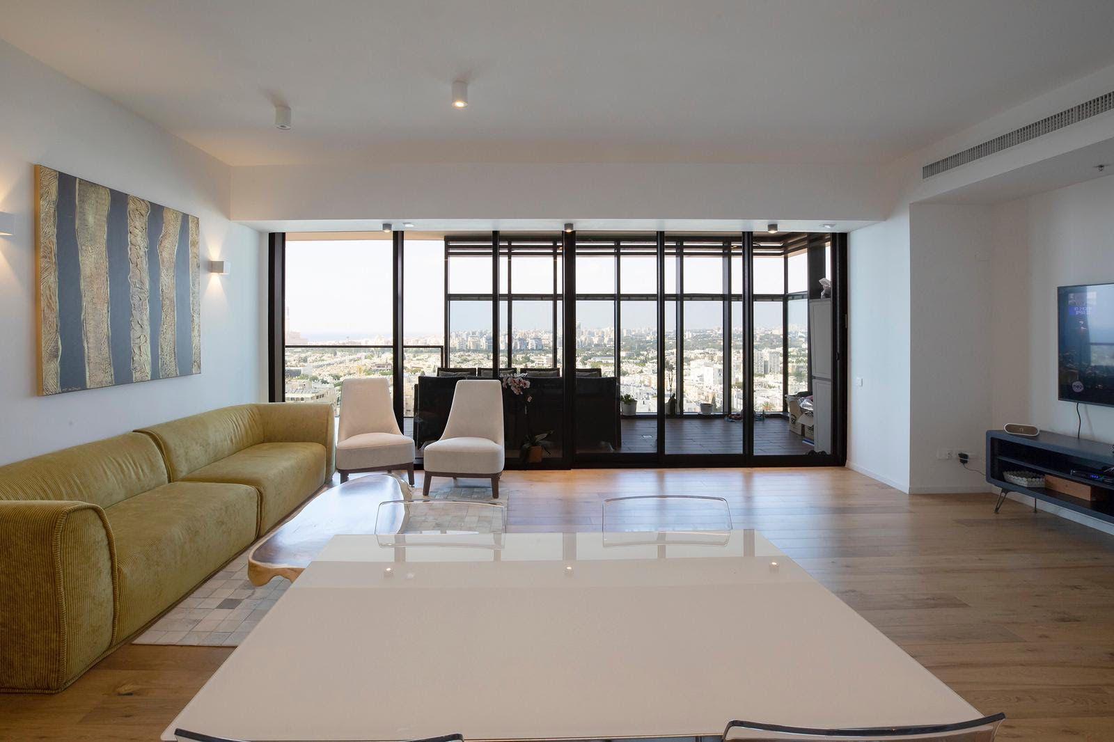 למכירה דירת יוקרה במגדל הגימנסיה תל אביב - יפו