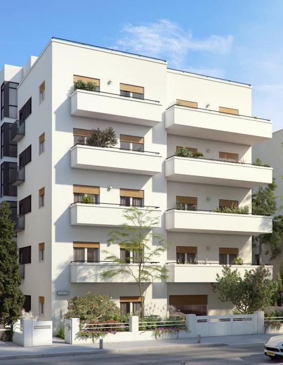 פרויקט דירות חדשה בלב העיר תל אביב