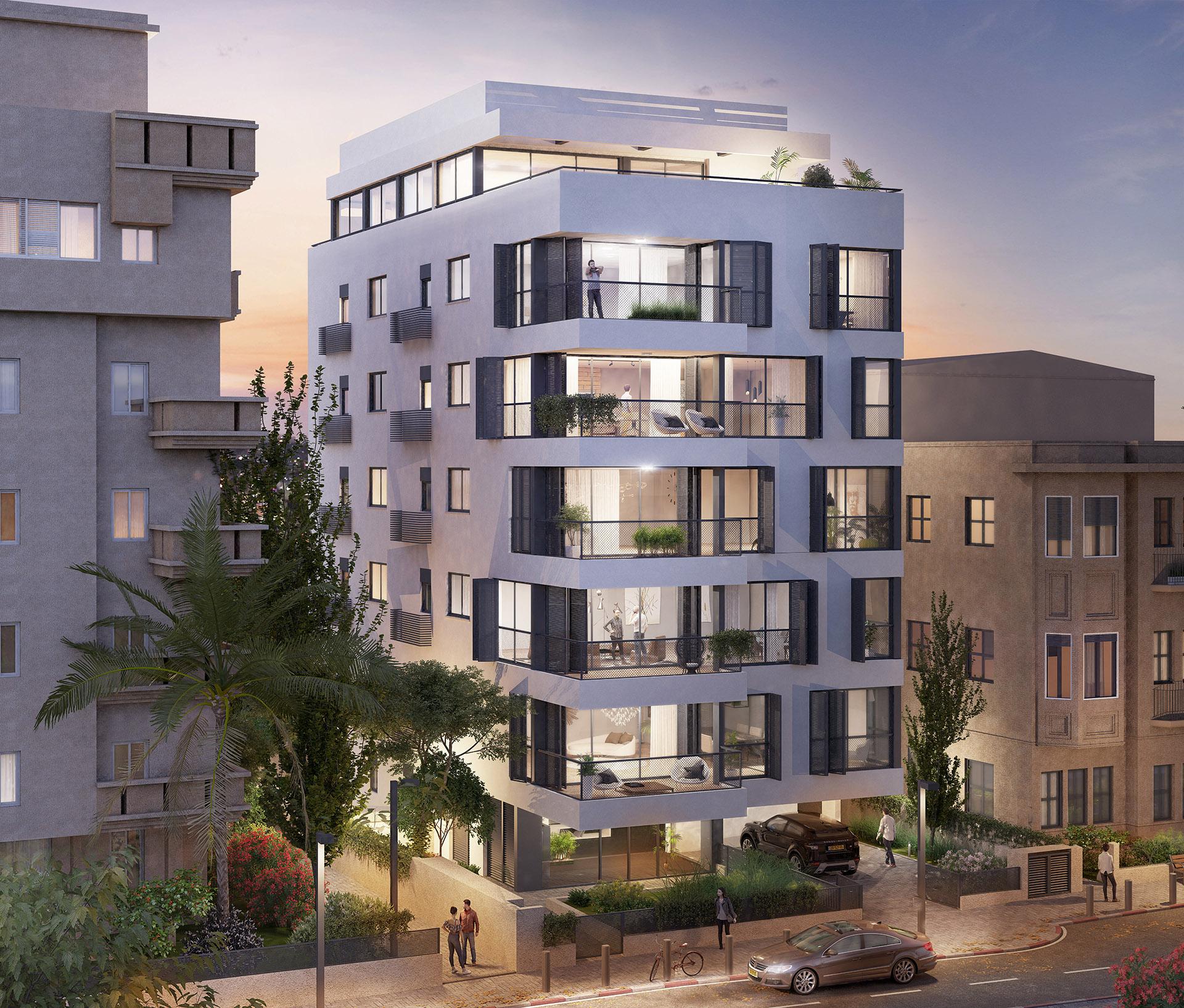 פרויקט דירות בוטיק בלב העיר תל אביב