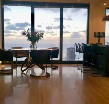 להשכרה דירת יוקרה במגדל White City בשכונת נווה צדק תל אביב