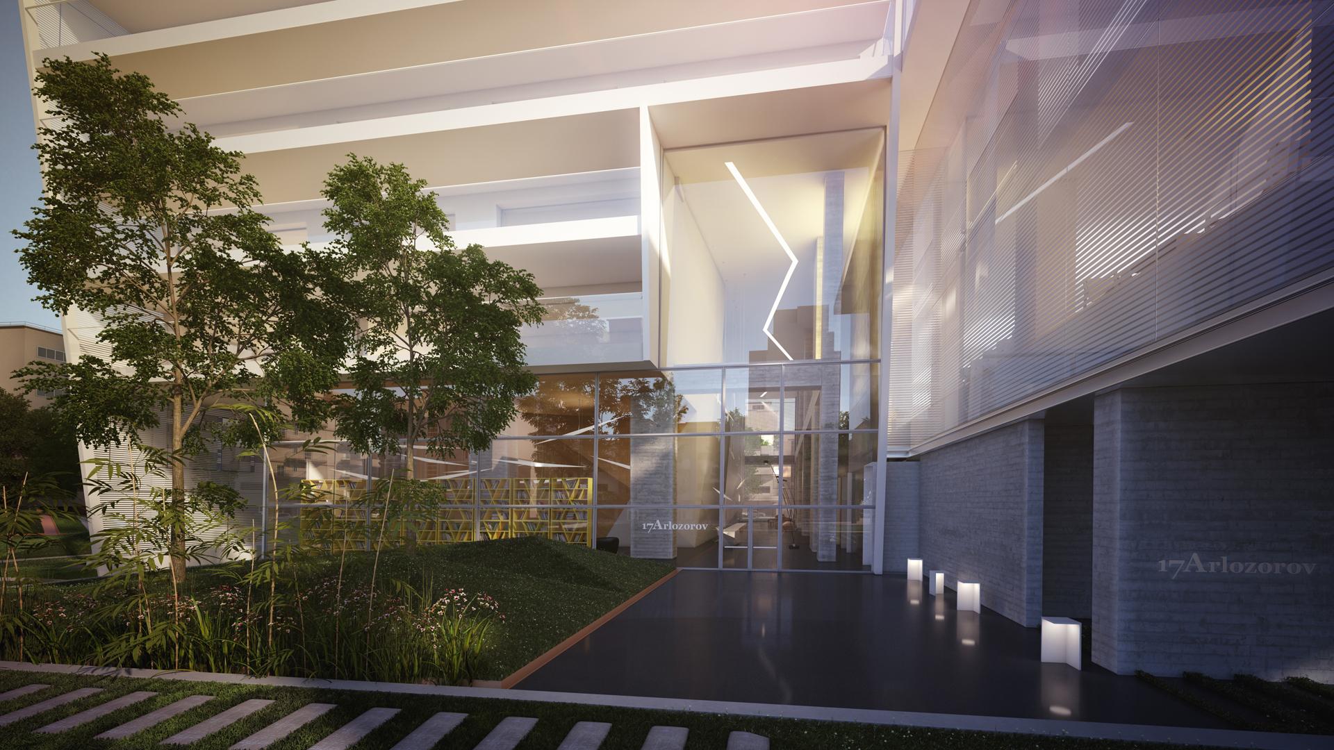 להשכרה דירת יוקרה במגדל ארלוזורוב 17 תל אביב ישראל