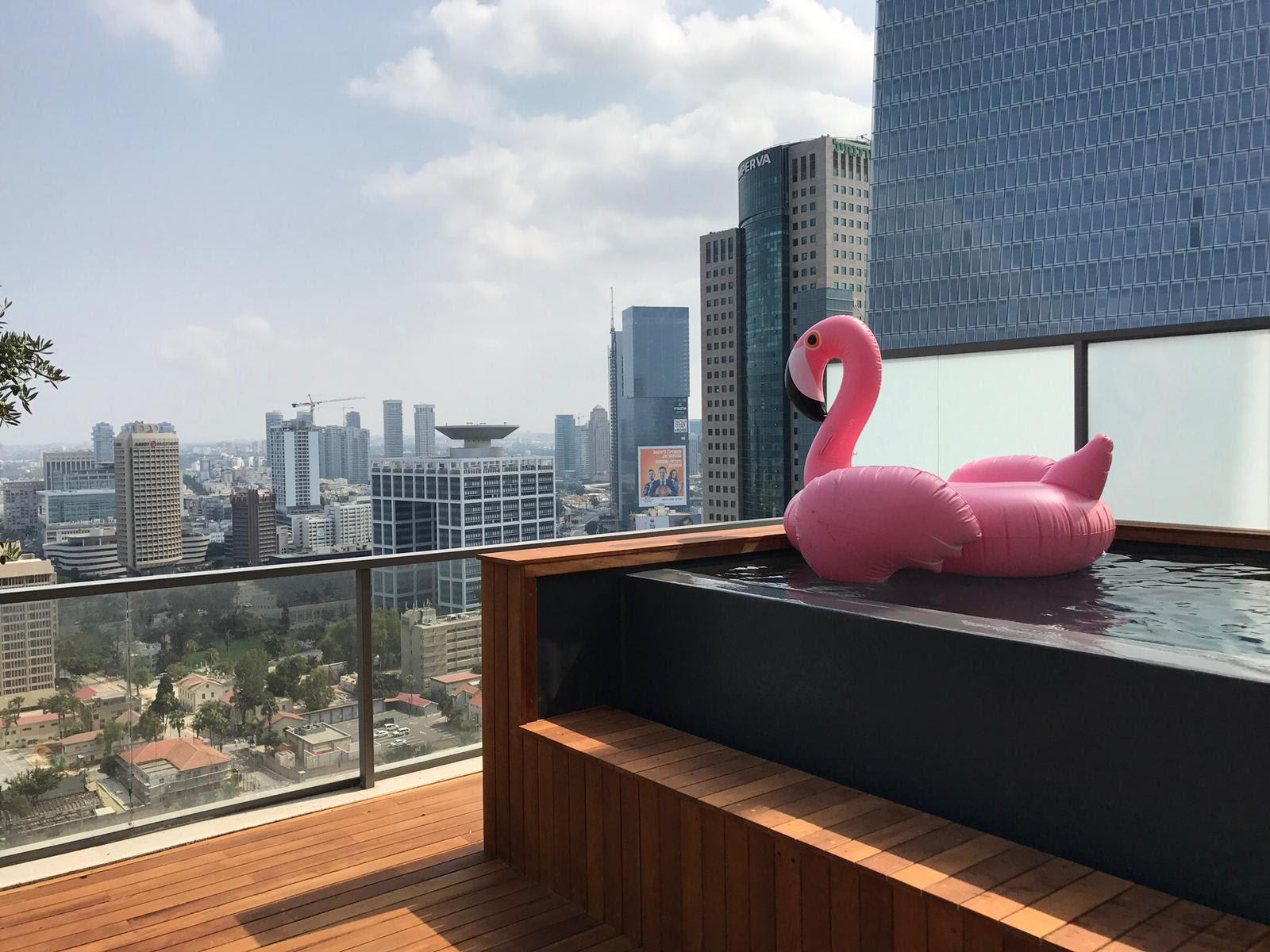למעלה להשכרה פנטהאוז במגדלי שרונה - קמפינסקי דירות יוקרה בתל אביב XV-35